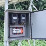 Da movimentação variável da freqüência de SAJ 0.75KW IP65 DC-AC controlador solar da bomba para o sistema de bombeamento solar