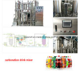 発泡性の水差しの炭酸塩化された飲み物の生産設備