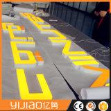Carta de acrílico al aire libre del Lit LED de la cara 3D de la alta calidad
