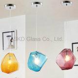 Farben-Alternative Glas durchgebrannt für hängende Lampe I078