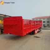 Viehbestand, der halb Welle 3 40 Tonnen Zaun-Stange-Schlussteil-transportiert