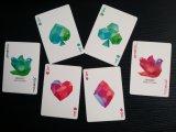 Kasino-Qualitätsdiamant-Schürhaken-Spielkarten