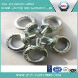 Boulon d'oeil galvanisé d'acier du carbone d'IMMERSION chaude/boulon oeil d'attache DIN444