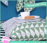 Reine Baumwolldekoratives rückseitiges kundenspezifisches Druck-Sofa-Luxuxkissen