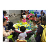Vector educativo de la arena del juguete del patio de interior para los niños (ZJ-ST-36)