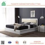 Modernes Königin-Größeausdehnbares Headboard-Doppelt-hölzernes Bett
