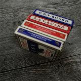 Kundenspezifische Kasino-Schürhaken-Karten-Spielkarten mit preiswertem Preis