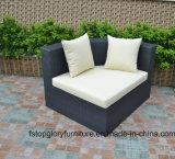 Aluminun Rahmen-im Freienmöbel-Sofa-Tisch-gesetzte Rattan-Möbel