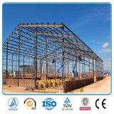 Edificio de acero prefabricado de la construcción del almacén de la estructura de la cortina