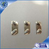 El Manufactory de China modificó el clip de acero plateado/vaciado exacto del oro para requisitos particulares de la hoja del AAA de la batería del contacto