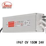 150W 24VCC 6.25une tension constante LED IP67 Alimentation de commutation