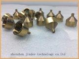 Großer CNC-Fräsmaschine-Zoll CNC-maschinell bearbeitende kupferne Teile