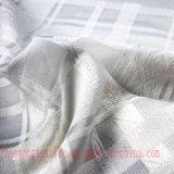 Fibra química tingida de rayon do poliéster do jacquard para o vestuário do vestido da mulher