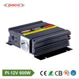 Paco hors réseau 12V 600W CC Convertisseur auto voiture alimentation CA