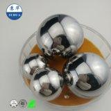 La bola de acero de alta precisión para el apoyo de acero cromado, acero al carbono, acero inoxidable