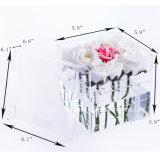 カスタム透明なアクリルの花ボックス