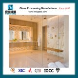 Framless 몇몇 상한 호텔, 유리에 있는 목욕탕 입구 문에서 조차 유리제 샤워 문 및