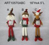 Regalo de la decoración de la Navidad del canguro del uno mismo del reno del muñeco de nieve de Santa