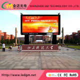 Fatto nella visualizzazione di LED esterna della Cina con visualizzazione personalizzata P10
