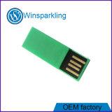 Freies Firmenzeichen Mini-USB-Klipp USB-Speicher-Stock
