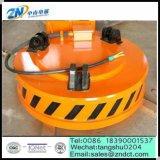 Nuovo elettromagnete di sollevamento di figura rotonda per scarto d'acciaio della serie MW5