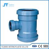 Tubo de desagüe plástico que ajusta el tubo y las guarniciones de 2 de la pulgada de la te PP del reductor