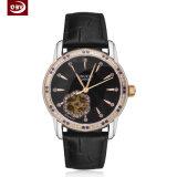 Edelstahl-wasserdichte Frauen-Armbanduhr der großen Vorwahlknopf-Männer