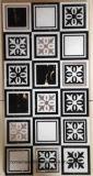 磨かれた水晶金のホテルの壁のための陶磁器のカーペットのタイル