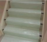 De beste Gevoelde Beschermer van de Vloer van 100 Polyester Witte Kleverige
