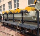 Riga di riciclaggio di plastica residua con 500kg/H