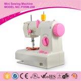 208中国の工場革小型産業ミシンのジグザグ形