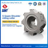 Indexierbare quadratische Schulter-Prägescherblock-Hilfsmittel für Großverkauf