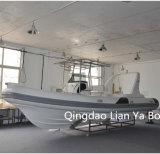 Vente de bateau de taxi de l'eau de passager de bateau de côte de console de Liya 25feet