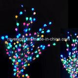 LED de alimentação das luzes de férias de fadas para decoração exterior