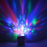 Karaoke 당을%s 소형 USB 디스코 빛