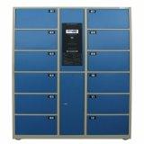 Tür-Edelstahl-Speicher-Schließfach-Gepäck-Paket-Schließfach des ändernden Raum-12