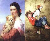 Klassisches Portrait-Ölgemälde
