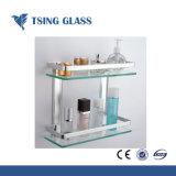 Étagère en verre/étagère en verre trempé pour store//coin Showeroom