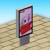 Public City Advertizing Outdoor Scrolling Stand LED Light Box