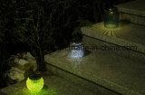 Lámpara solar de la nueva del diseño del uso del jardín LED venta caliente solar al aire libre de la lámpara para la decoración del jardín