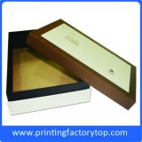 Empacotamento de papel de empacotamento da caixa do costume da caixa de sapata da alta qualidade