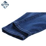 Pantaloni 100% del denim dei bambini del cotone con il cinturino della nervatura