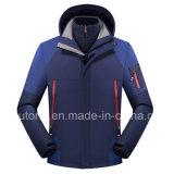 남녀 공통 3개 1개의 착용 옥외 경량 연약한 쉘 재킷