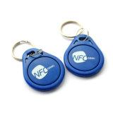 Etiqueta de RFID personalizadas via RFID ABS com porta-chaves