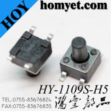 interruptor tátil do tacto do interruptor SMD de 4.5*4.5mm 4pin SMT (HY-1109S)