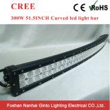 barra chiara curva 52inch di 300W LED con lo sfiato dello sfiatatoio (GT3102-300Cr)