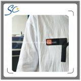 Insigne nommé personnalisé de PVC avec le Pin et le clip