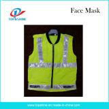 Maglia riflettente di sicurezza dell'alto Workwear su ordinazione di visibilità del mercato della Malesia
