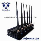 調節可能な3G/4Gすべての携帯電話のシグナルの妨害機及びGPSの妨害機