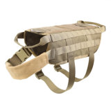 Vestiti esterni del cane di Molle di addestramento di caccia della polizia di Cambot della maglia tattica del cane